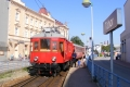 Historické jízdy elektrickým motorákem Elinkou na první elektrické dráze v Rakousku-Uhersku